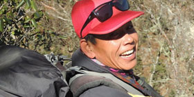 Lalit Magar, trek guide