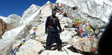 Sangam Shrestha, Trekking Guide