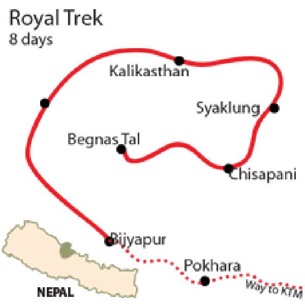 The Royal Trek